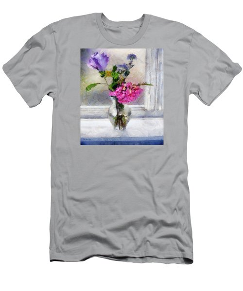 Winter Windowsill Men's T-Shirt (Athletic Fit)