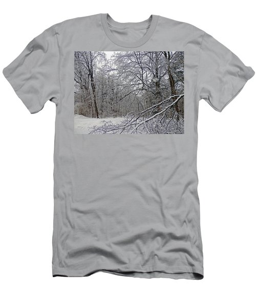 Winter Wonderland Men's T-Shirt (Slim Fit) by Pema Hou