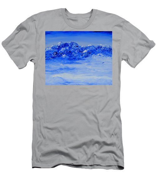 Winters Frosty Hues Men's T-Shirt (Athletic Fit)