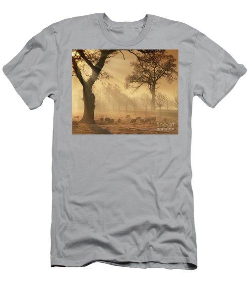 Winter's Gold Men's T-Shirt (Athletic Fit)