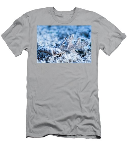 Winter's Icy Grip Men's T-Shirt (Athletic Fit)