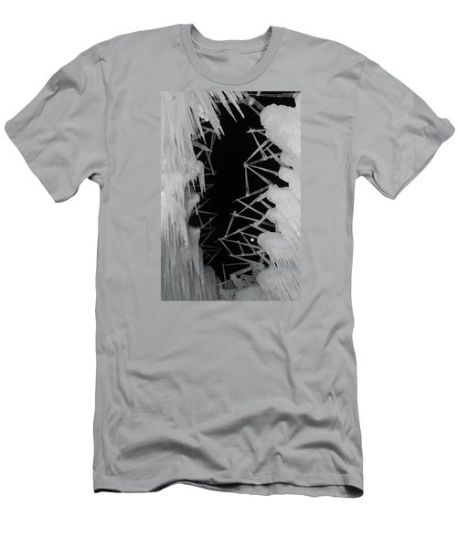 Wintery Ice Farming  Men's T-Shirt (Athletic Fit)