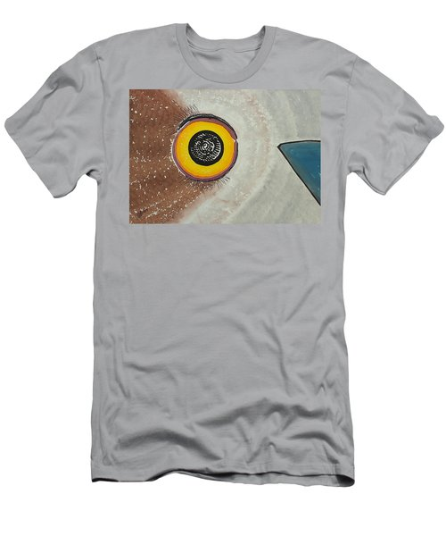 Wise Owl Original Painting Men's T-Shirt (Athletic Fit)