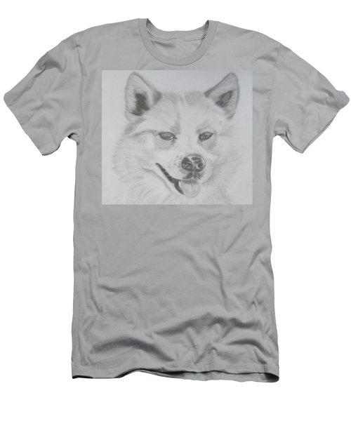Wolf The Husky Men's T-Shirt (Athletic Fit)