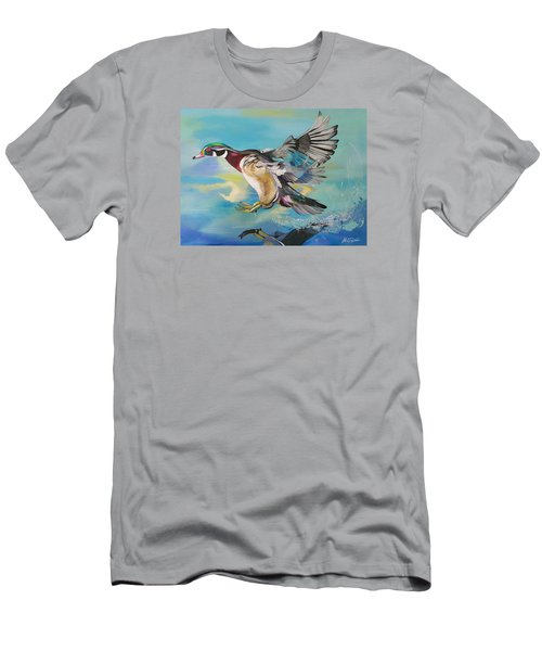 Wood Flight Men's T-Shirt (Athletic Fit)