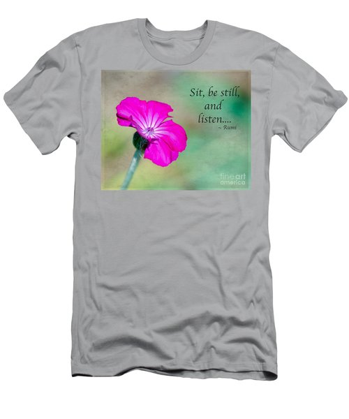 Words From Rumi Men's T-Shirt (Athletic Fit)