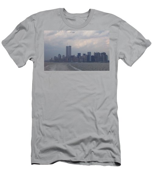 World Trade Center May 2001 Men's T-Shirt (Slim Fit) by Kenneth Cole