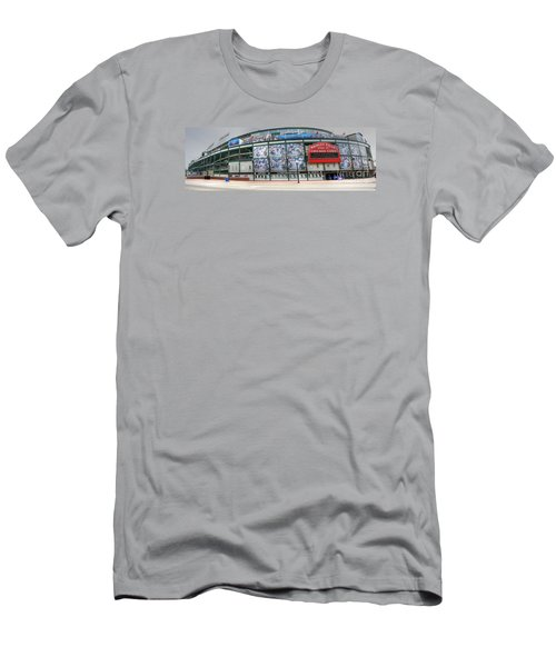 Wrigley Field On Clark Men's T-Shirt (Athletic Fit)