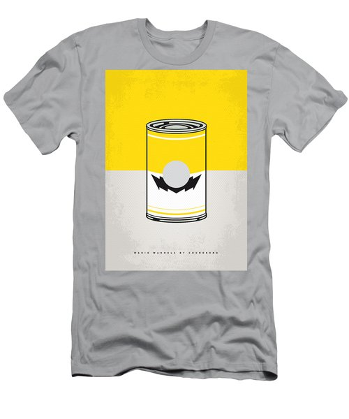 Y Mario Warhols Minimal Can Poster-wario Men's T-Shirt (Athletic Fit)