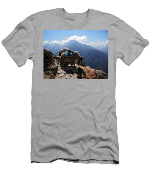 Yaks 1a Men's T-Shirt (Athletic Fit)