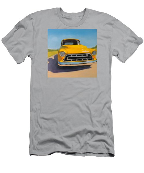 Yellow Chevy Men's T-Shirt (Athletic Fit)