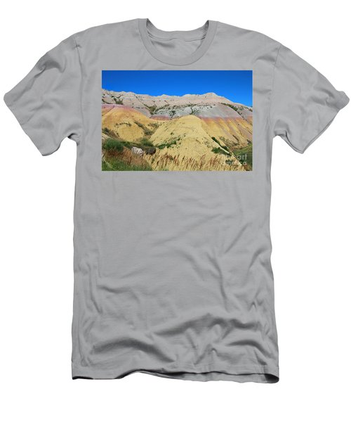 Yellow Mounds Badlands National Park Men's T-Shirt (Athletic Fit)