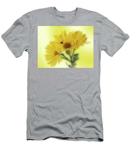 Yellow  Men's T-Shirt (Athletic Fit)
