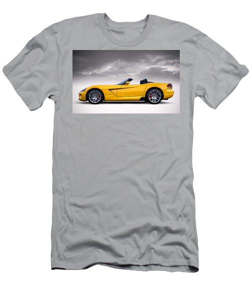 Yellow Viper Roadster Men's T-Shirt (Athletic Fit)