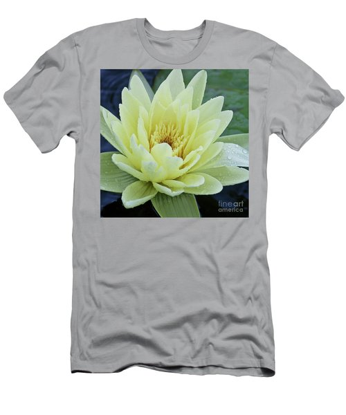 Yellow Water Lily Nymphaea Men's T-Shirt (Athletic Fit)
