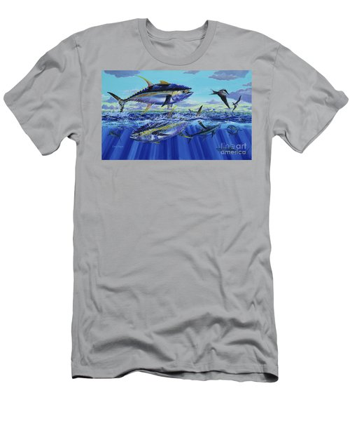 Yellowfin Bust Off0083 Men's T-Shirt (Athletic Fit)