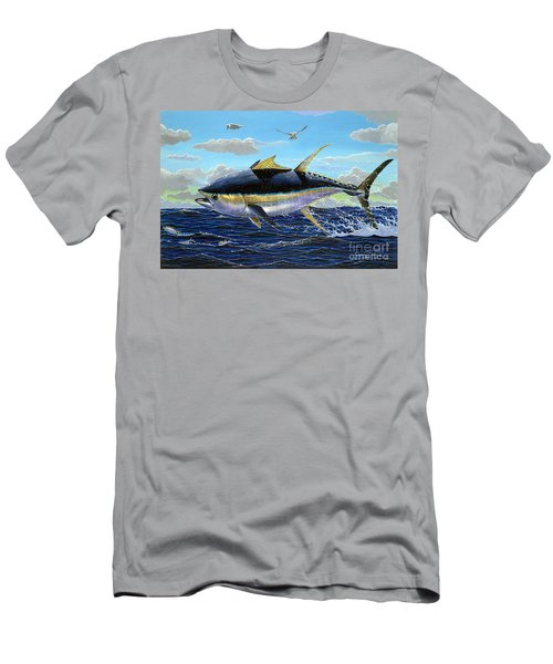 Yellowfin Crash Off0081 Men's T-Shirt (Athletic Fit)