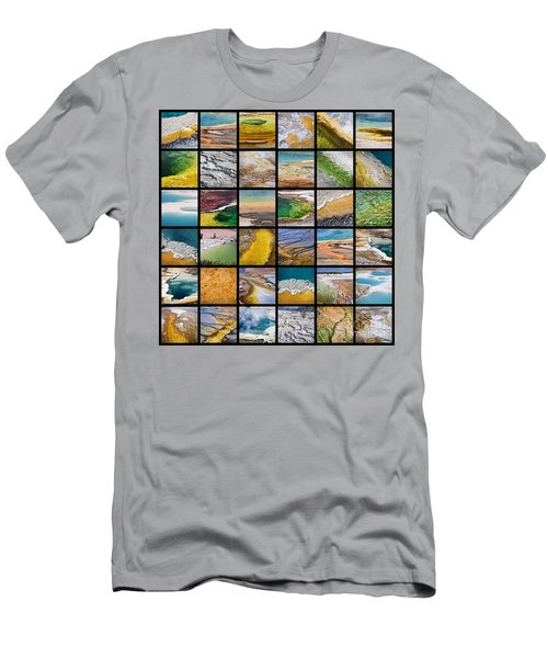 Yellowstone Colors Men's T-Shirt (Athletic Fit)