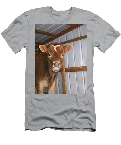 Men's T-Shirt (Slim Fit) featuring the photograph Yes I'm Talking To You by Sara  Raber