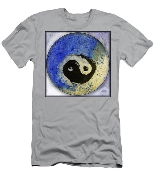 Yin Yang Painting Men's T-Shirt (Slim Fit) by Peter v Quenter