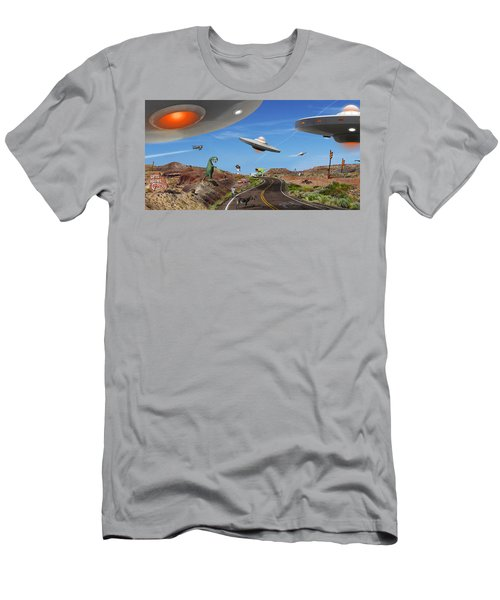 You Never Know . . . Panoramic Men's T-Shirt (Athletic Fit)