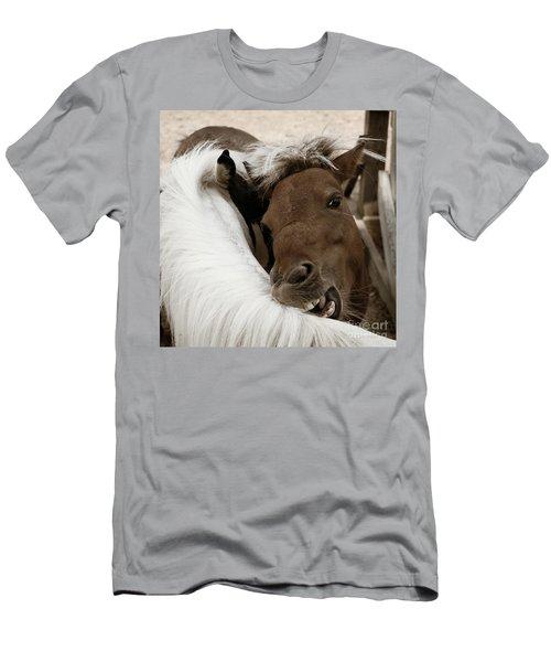 You Scratch Mine Men's T-Shirt (Athletic Fit)