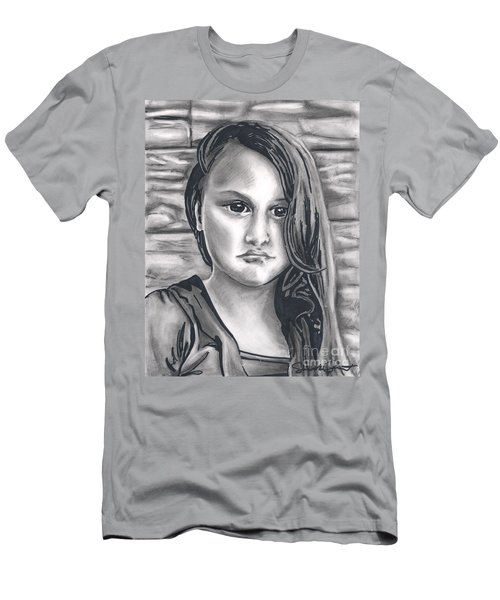Young Girl- Shan Peck Contest Men's T-Shirt (Slim Fit) by Samantha Geernaert