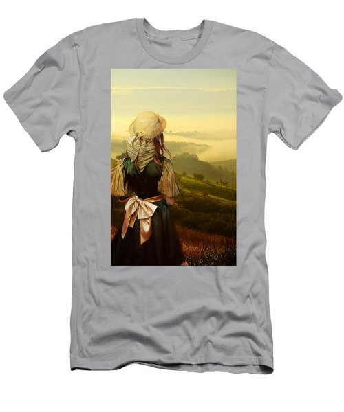 Men's T-Shirt (Athletic Fit) featuring the photograph Young Traveller by Jaroslaw Blaminsky