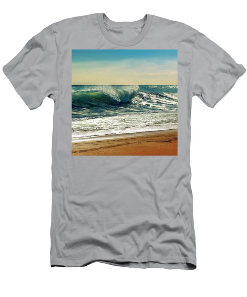 Your Moment Of Perfection Men's T-Shirt (Slim Fit) by Laura Fasulo