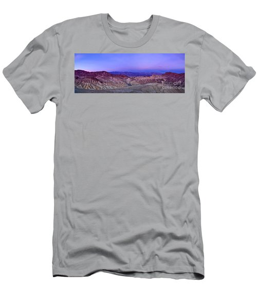 Zabriskie Sunrise Panorama - Death Valley National Park. Men's T-Shirt (Athletic Fit)