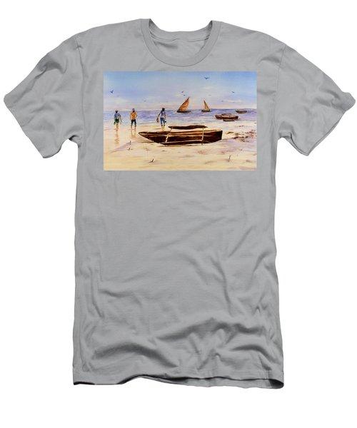 Zanzibar Forzani Beach Men's T-Shirt (Athletic Fit)