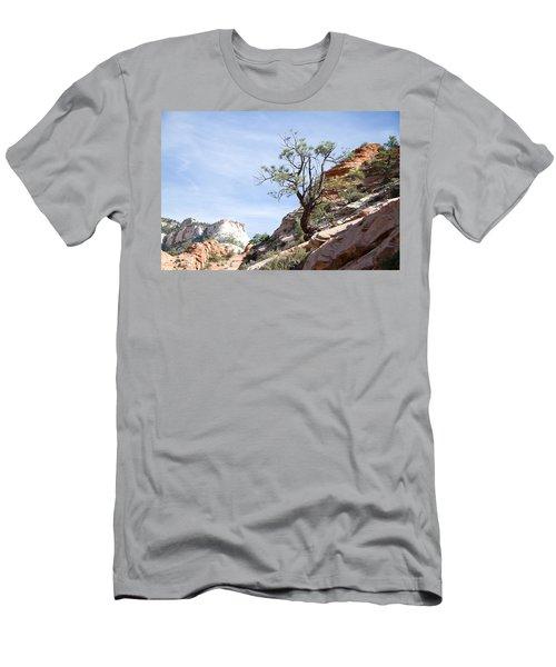 Zion National Park 1 Men's T-Shirt (Athletic Fit)