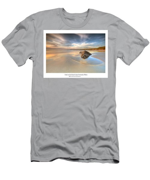 Dusk On The Beach Men's T-Shirt (Athletic Fit)