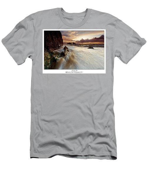 Llanddwyn Island Beach Men's T-Shirt (Athletic Fit)