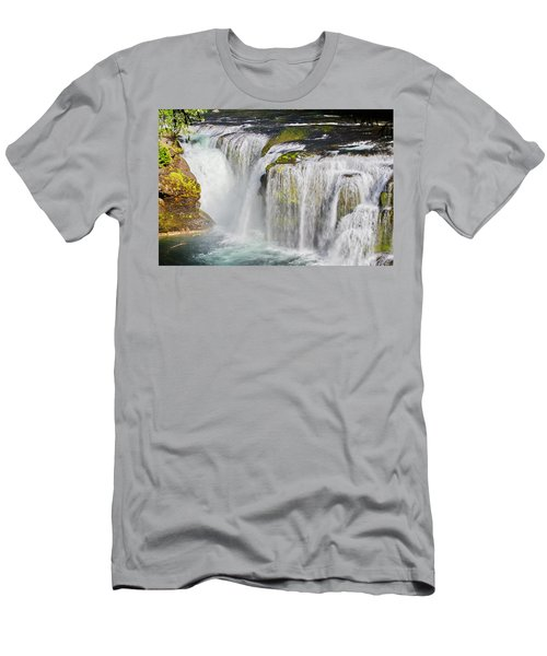 Lower Falls On The Upper Lewis River Men's T-Shirt (Athletic Fit)