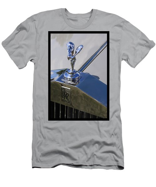 Men's T-Shirt (Slim Fit) featuring the photograph 1965 Rolls Royce Silver Cloud IIi Mpw Coupe by Gordon Dean II