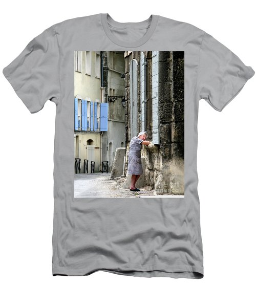 Men's T-Shirt (Slim Fit) featuring the photograph Another Nap.arles.france by Jennie Breeze