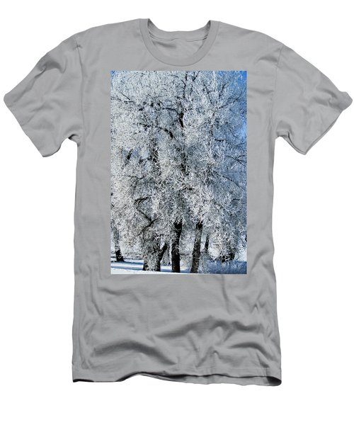 Iced Men's T-Shirt (Slim Fit) by Colleen Coccia