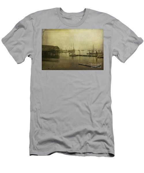 Rockland Harbor Men's T-Shirt (Athletic Fit)