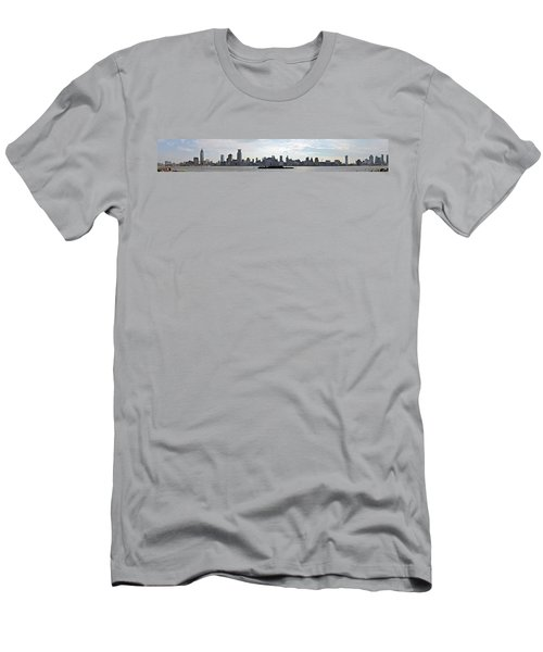 Shanghai Bund Panorama - Daytime Men's T-Shirt (Athletic Fit)