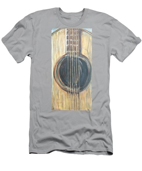 Strings Acoustic Sound Men's T-Shirt (Athletic Fit)