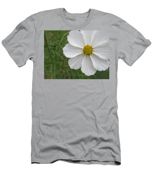Men's T-Shirt (Slim Fit) featuring the photograph White Beauty by Tina M Wenger