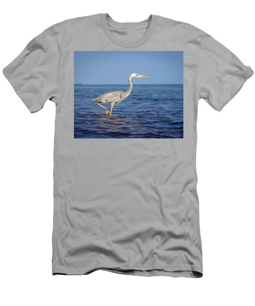 Wurdemann's Heron Men's T-Shirt (Athletic Fit)