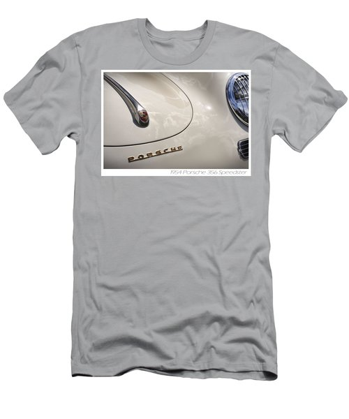 Men's T-Shirt (Slim Fit) featuring the photograph 1954 Porsche 356 Speedster by Gordon Dean II