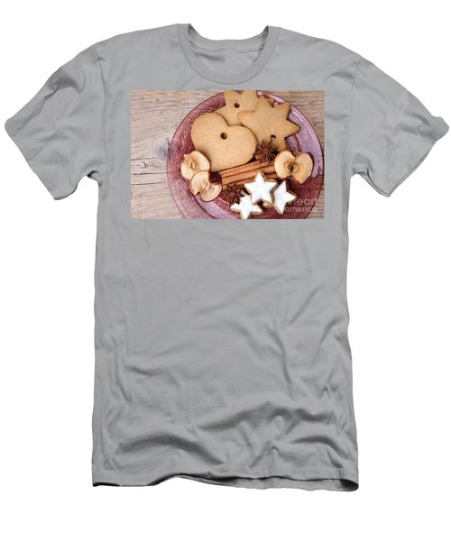 Christmas Gingerbread Men's T-Shirt (Athletic Fit)