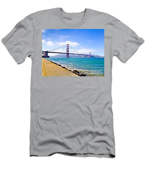 75 Years - Golden Gate - San Francisco Men's T-Shirt (Athletic Fit)