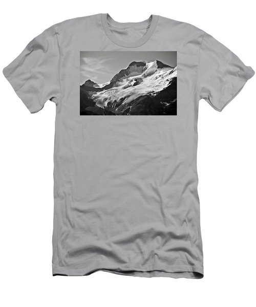 A Glacier In Jasper National Park Men's T-Shirt (Athletic Fit)