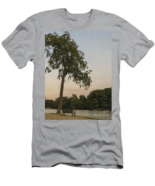 A Lonely Park Bench Men's T-Shirt (Athletic Fit)