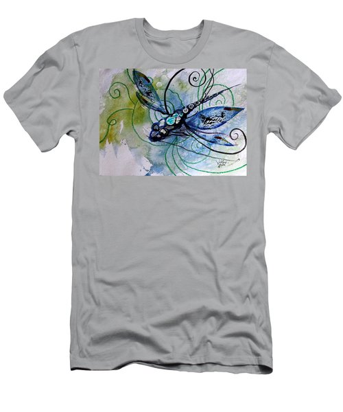 Abstract Dragonfly 10 Men's T-Shirt (Athletic Fit)