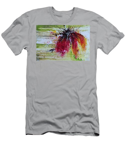 Abstract  Flower Men's T-Shirt (Athletic Fit)